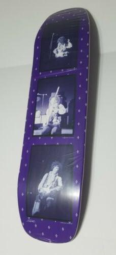 Jimi X Supply Skateboard Deck Purple Haze NEW RARE