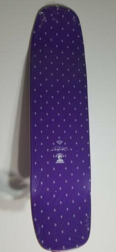 Jimi Hendrix X Supply Skateboard Deck Purple Haze NEW RARE