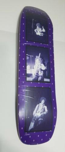 Jimi Hendrix X Diamond Supply Co Skateboard Deck Purple Haze