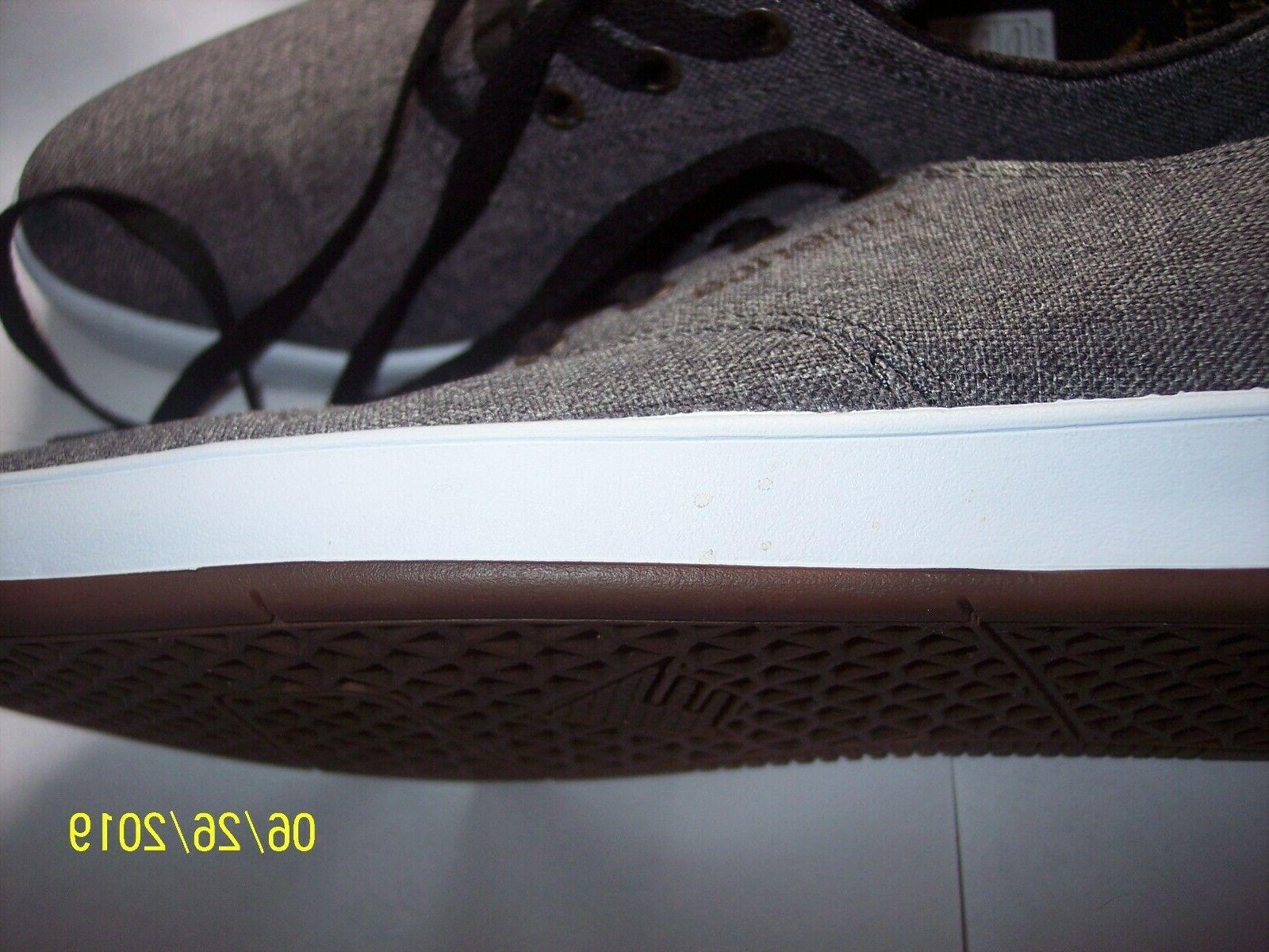 MENS ROMERO GRAY LACED US10 UK9 NEW