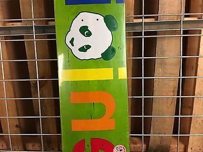 New Enjoi Spectrum Brainer HYB Green Deck - 7.75in
