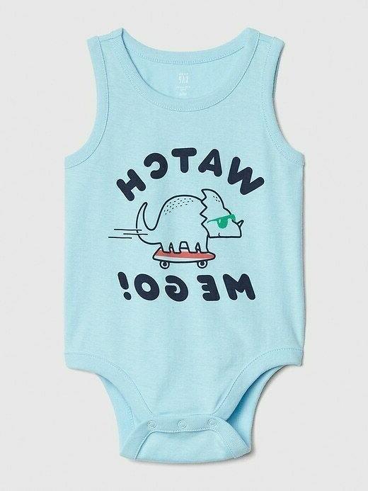 NWT Baby Gap Dinosaur Skateboard Tank Shorts Outfit Boy