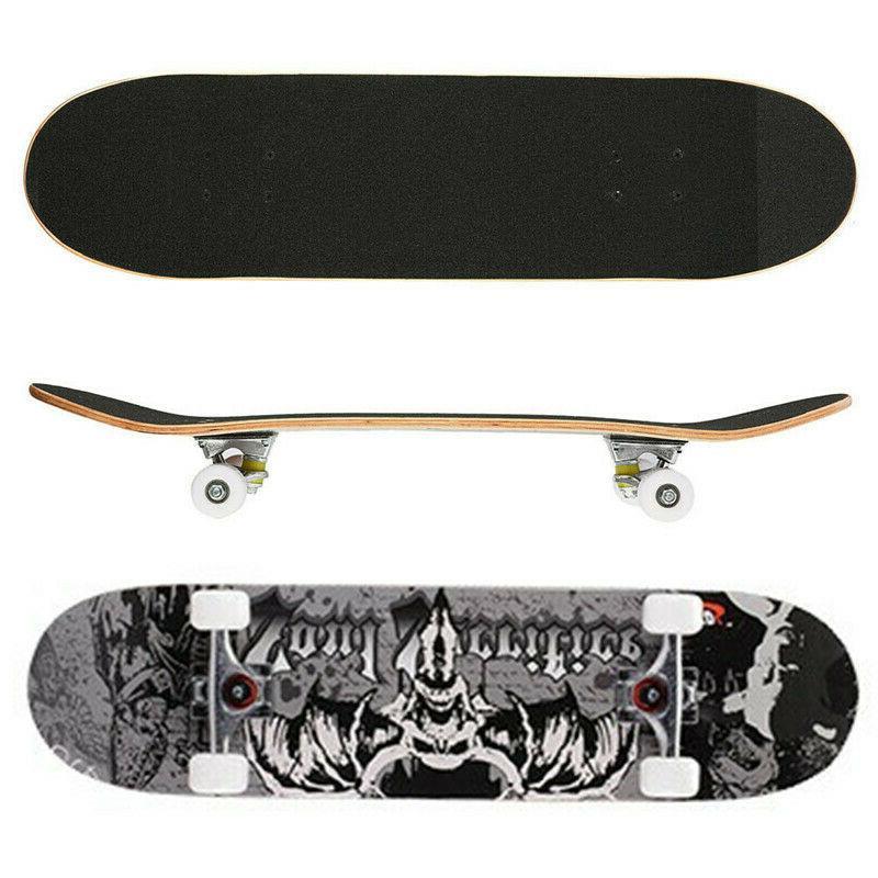 pro adult teenager skateboard complete wheel truck
