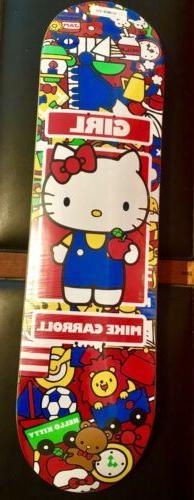 Girl Sanrio Mike Carrol Hello Kitty Skateboard Deck