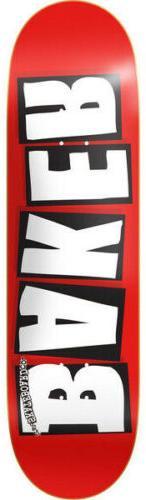 BAKER Skateboard Deck LOGO WHITE 8.0' BRAND NEW SEALED IN SH