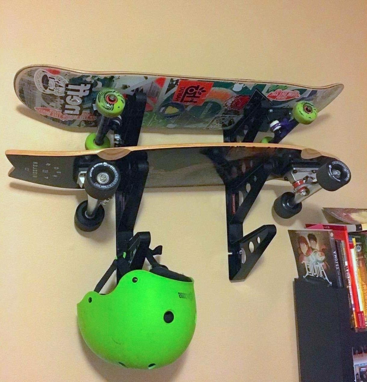 Skateboard Rack-Sports, Scooter, Storage, Wheel