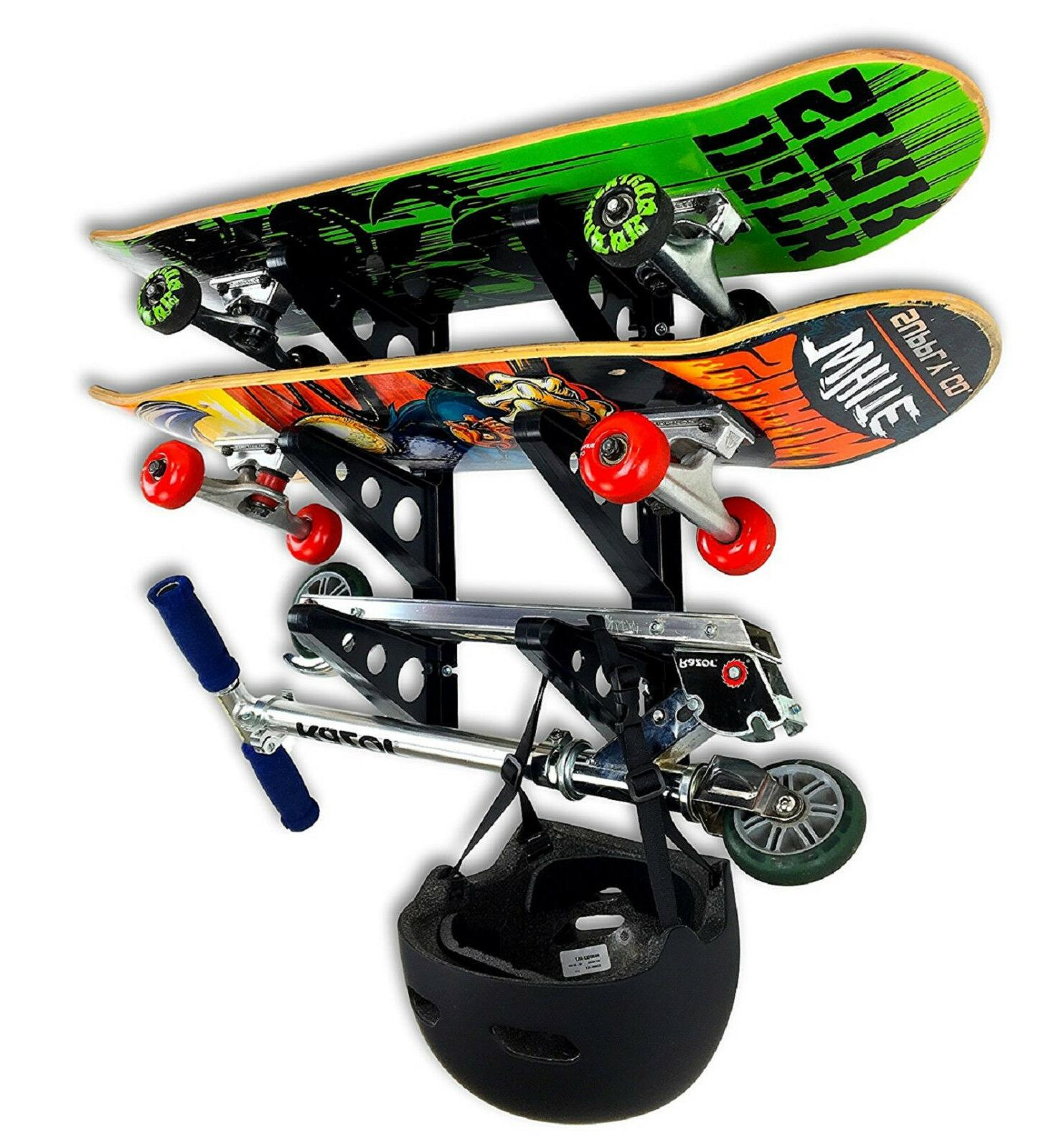 skateboard rack sports outdoors recreation scooter exercise