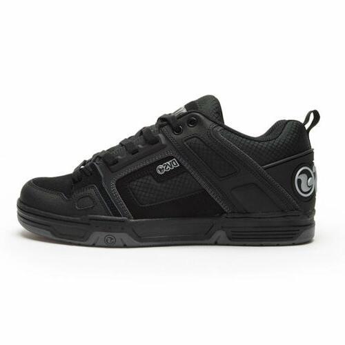 skateboard shoes comanche black reflective charcoal