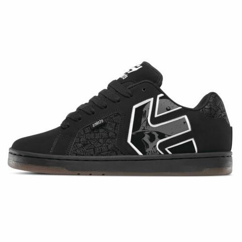 skateboard shoes metal mulisha fader 2 black