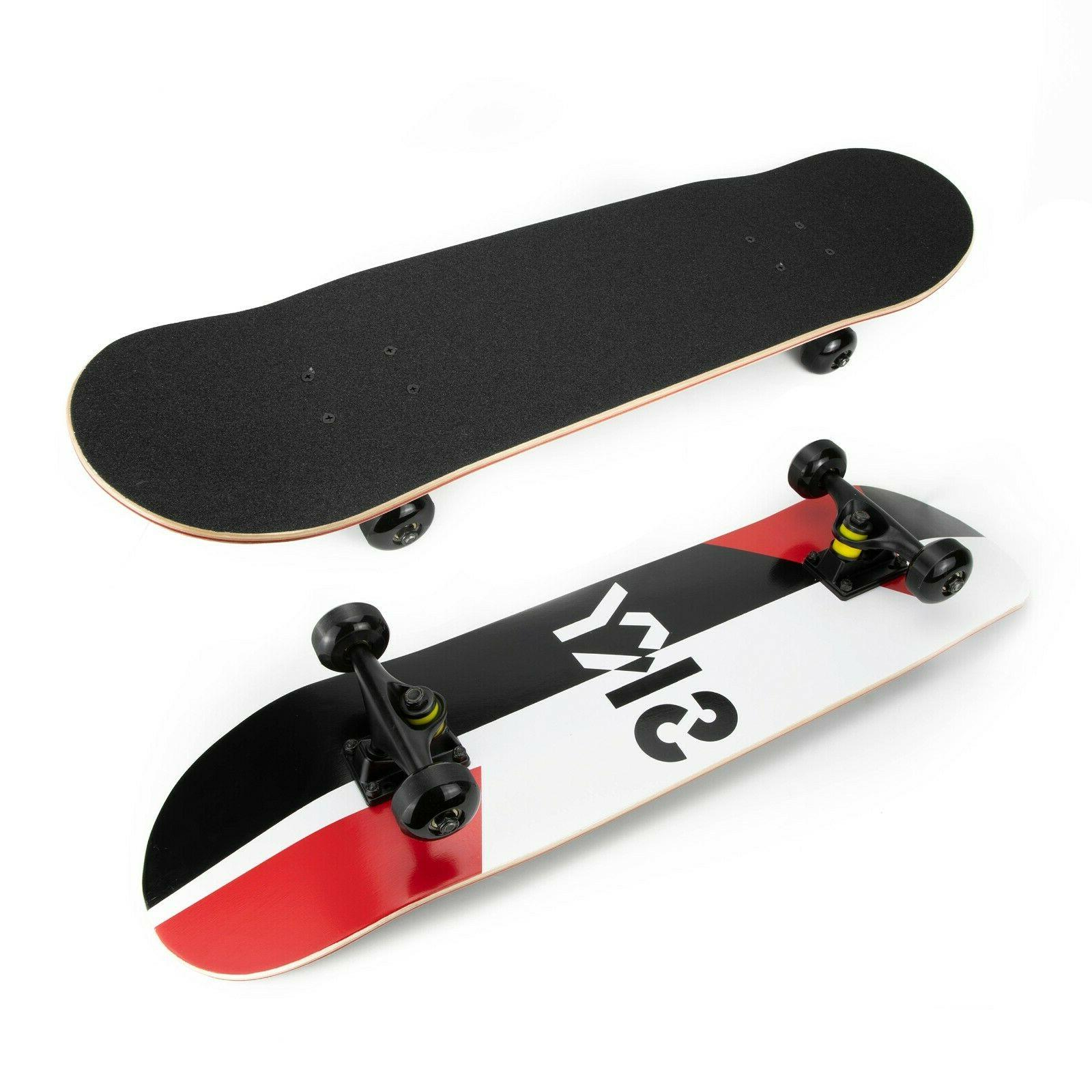 Skateboards 31 for Adults Girls 7 Lays Maple Deck Pro