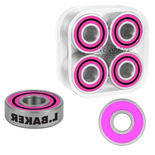 speed co skateboard bearings l baker pro