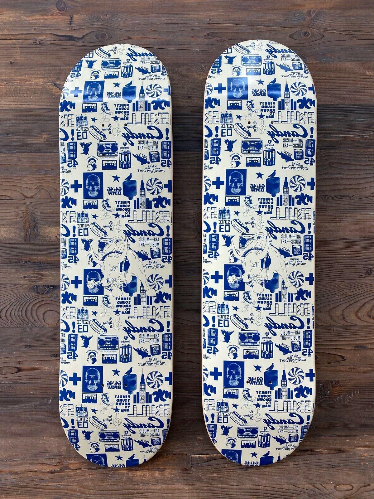 Vintage EXTREMELY RARE Skateboard Skate Decks 2011 x 8