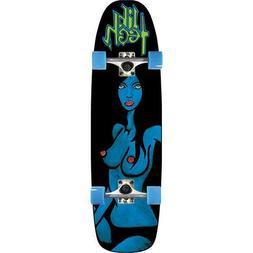 LIB TECH BLUE GIRL COMPLETE LONGBOARD SKATEBOARD BRAND NEW!!