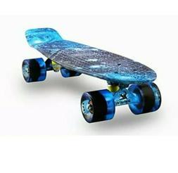 Meketec Skateboards Complete 22 Inch Mini Cruiser Retro Skat