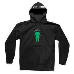 Lakai Clothing x Girl Skateboards Men's Black Flare Pullover