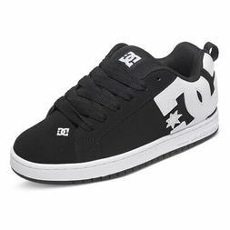 DC Shoes Men's Court Graffik Sneaker Shoes Black Kicks Train