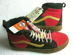 Vans Mens Sk8-Hi 46 Mte Dx All Weather Skate shoes Poinsetti