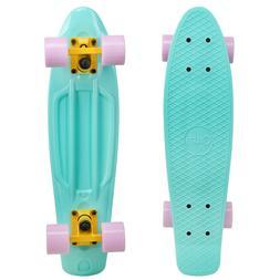 Cal 7 Mini Cruiser Skateboard Complete 22 Inch Standard Styl