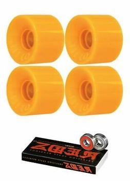 OJ Wheels Mini Hot Juice Skateboard Wheels - 55mm 78a + bear