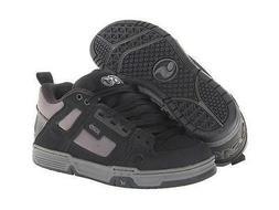 New DVS Comanche Black/Grey 012 Skateboard Shoes