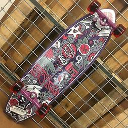 NEW Santa Cruz Doodle Shark Mid Cruzer Complete Skateboard -