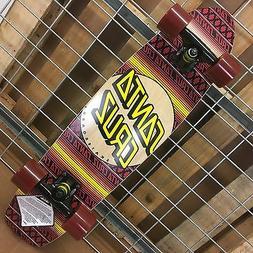 NEW Santa Cruz Jammer Serape Cruzer Complete Skateboard - 7.