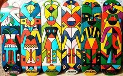 new totem og complete set skateboard decks