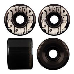 OJ III Skateboard Wheels 55mm Mini Super Juice 78A Trans Bla