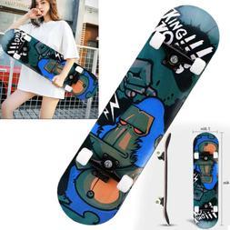 Orangutan Skateboard Top Stained BLACK 31.5in Skateboards, R