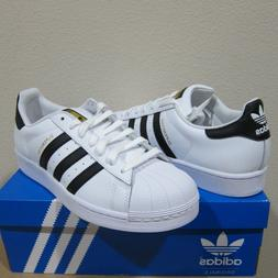 Adidas Originals Superstar Shoes Men's White/Black/Gold Snea