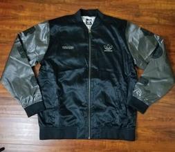 Adidas Originals Varcity Jacket TSM Black Skateboarding Toky