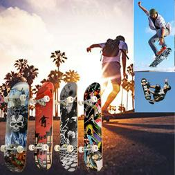 "Professional 31"" x 8"" Longboard Skateboard Cruiser Through d"
