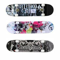 Professional Adult Skateboard Complete Solid Longboard Wheel