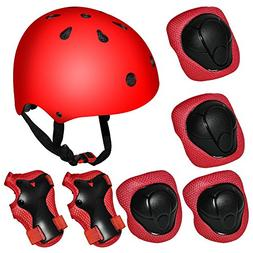 Kiwivalley Kids Boys and Girls Outdoor Sports Protective Gea