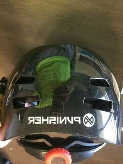 Punisher Skateboard Helmet - Youth Medium