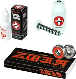 Bones Reds Precision Skate Bearings - Speed Cream & Cleaning