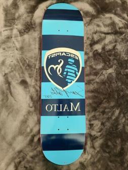 Sean Malto Signed Escapist Girl Skateboard Autographed Auto
