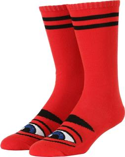 Toy Machine Sect Eye Girls Knee-High Skateboard Socks Red