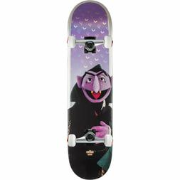 """Sesame Street Count Von Count Skateboard Complete 7.75"""" by G"""