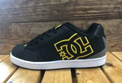 DC Shoes Net - Black/Gold - Men's Skateboard Sneakers - 3023