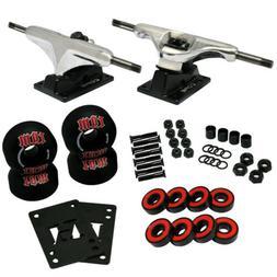 CORE Silver SKATEBOARD TRUCKS, Wheels, ABEC 5 Bearings