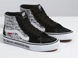 Vans sk8 hi pro X Baker Skateboards shoe  sz.7,8, 9,9.5,10,1