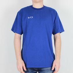 Polar Skate Co. Vertical Stripe T-Shirt Dark Blue Skateboard