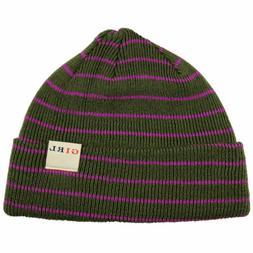 skateboard beanie toddler fold gray purple cap