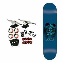 """Enjoi Skateboard Complete 80's Head Blue 8.375"""""""