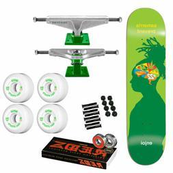 "Enjoi Skateboard Complete Brevard Brain Waves 8.0"" Venture,"