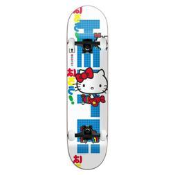 "Girl Skateboard Complete Brophy Hello Kitty Sanrio 8"" x 31.8"