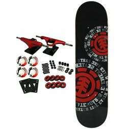 Element Skateboard Complete Dispersion 7.75' Red Trucks 52mm