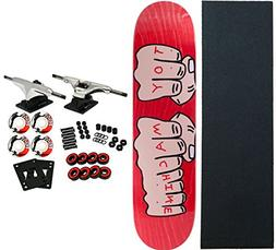 TOY MACHINE Skateboard Complete FISTS LG 8.25