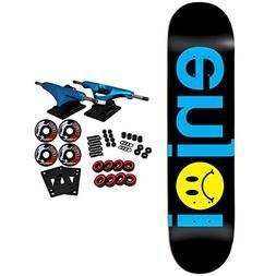 """Enjoi Skateboard Complete Frowny Face No Brainer Black 8.0"""""""